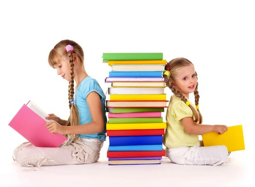 Teaching kids to love reading - photo